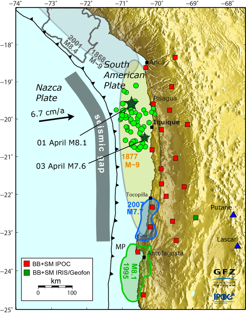 The Chilean Earthquakes Might Be Just The Beginning