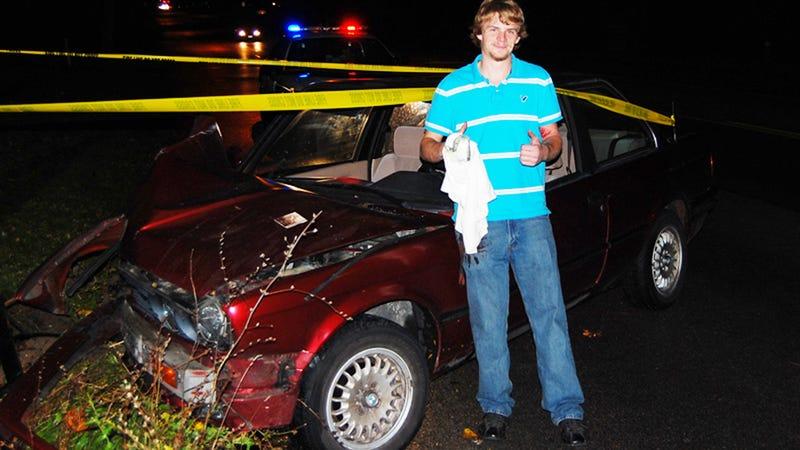 How To Make A Single-Vehicle Car Crash: A Recipe