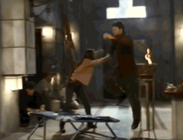 Behind-The-Scenes Footage Of Buffy Stunts Is the Ultimate Time Suck