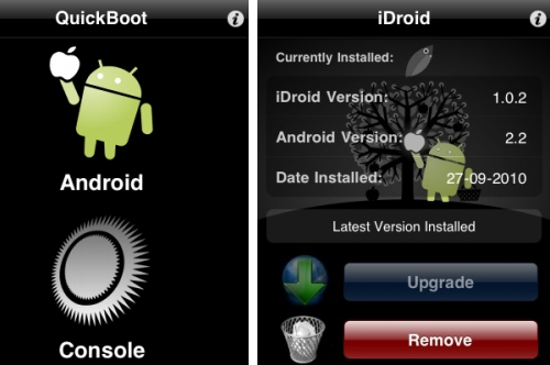 Install Android 2.2 Over the Air on a Jailbroken iPhone 3G