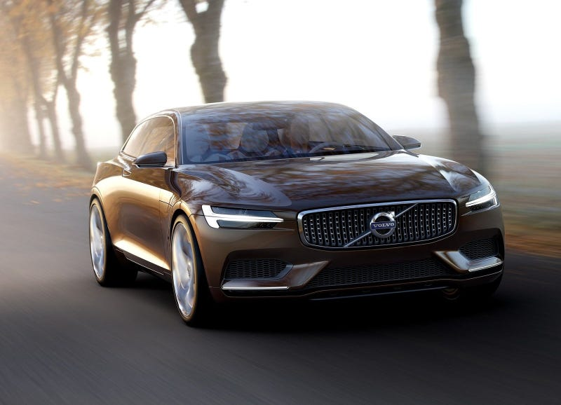 I Can't Stop Staring At The Volvo Concept Estate