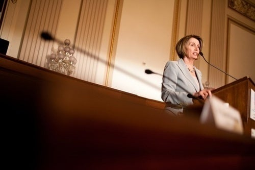 Nancy Pelosi Will Save the Democrats with Money