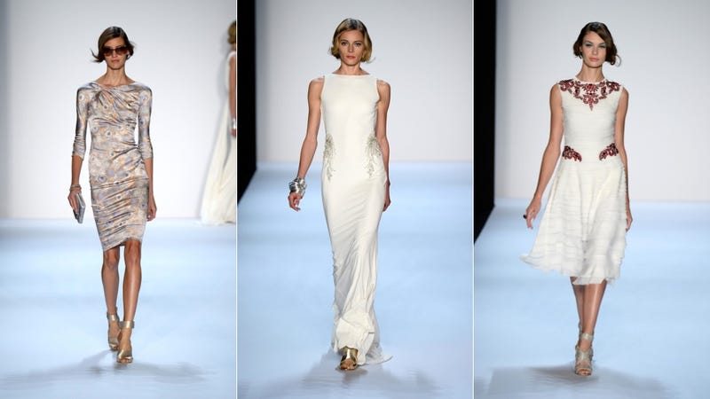 Badgley Mischka, for the Krystle Carrington Dynasty Diva in You