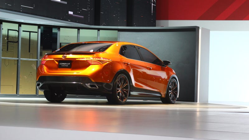 The Toyota Furia Concept Asks: Why Are You Still Buying Corollas, America?