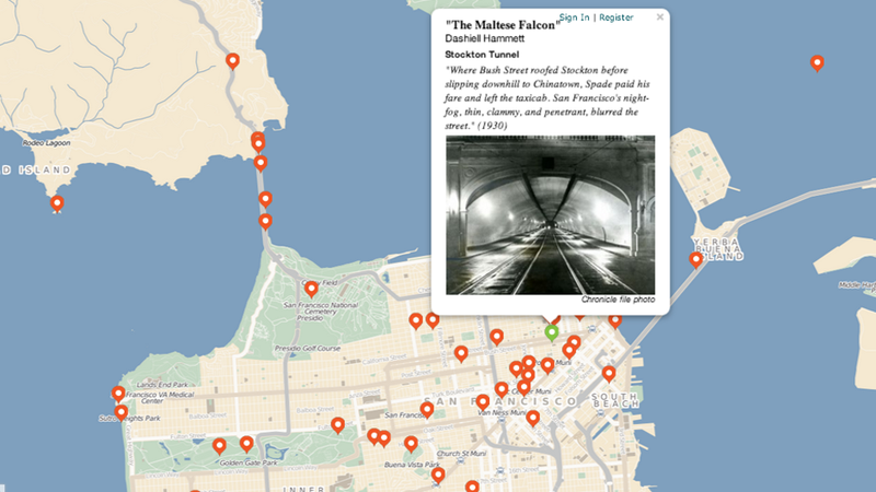 An Interactive Map of San Francisco's Many Literary Landmarks