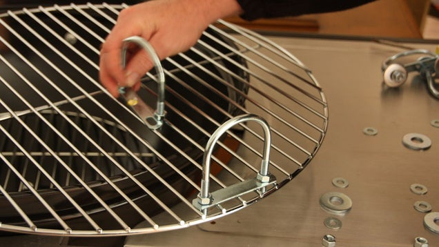 Add Handles to Your Grill with a Few Nuts and Bolts
