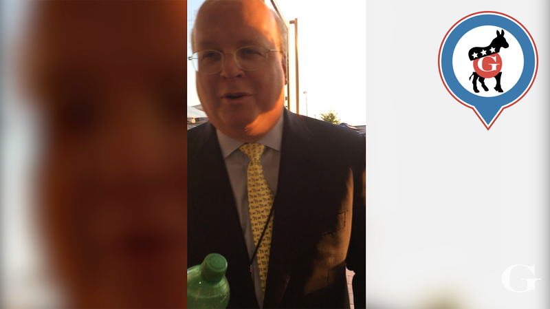 BOMBSHELL INTERVIEW: Is Karl Rove Voting for Donald Trump?
