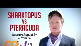 For Your Consideration: Conan O'Brien's <em>Sharktopus vs. Pteracuda</em> Scene