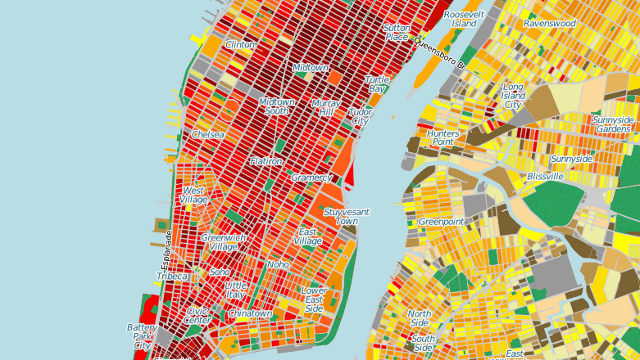 New York City's Energy Consumption Mapped Out, Building-by-Building
