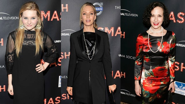 Fragmented Fashion at the Smash Premiere