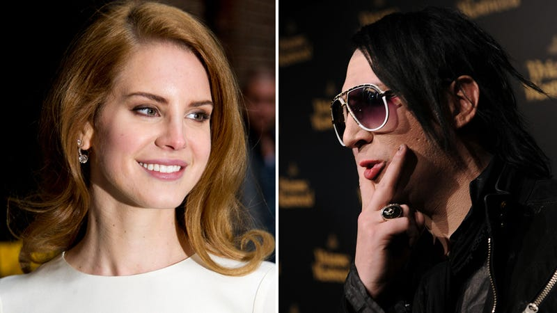 Good Afternoon, Lana Del Rey and Marilyn Manson Are Dating?