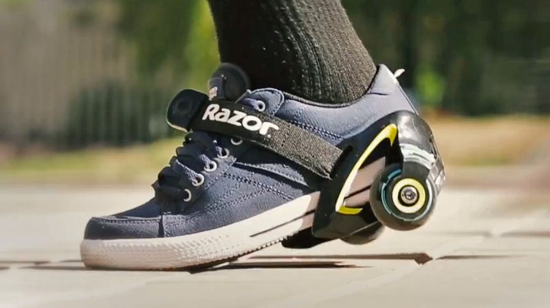 Razor's Jetts Turn Any Pair of Shoes Into Rolling Heelys