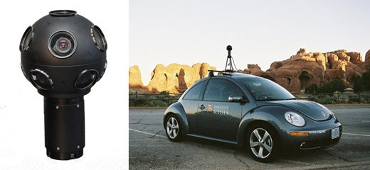 The Google Maps Street View Camera