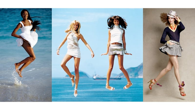 In Honor Of Leap Day, Here Are Some Models Leaping In Vogue