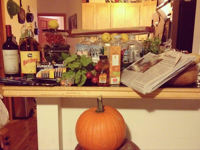 Show Us Your Frankenstorm Food Stash