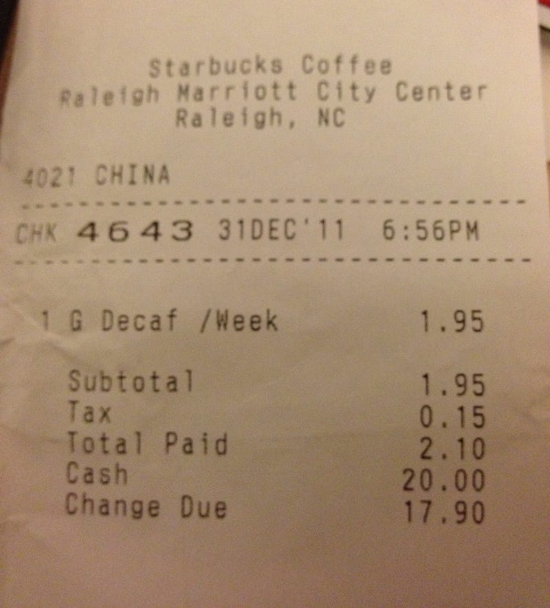 Fast Food Restaurants Really Don't Like Asians (and More Fast Food Receipt Insanity)