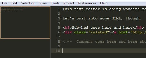 Sublime Text is a Serious Text Editor with No Bloat