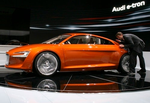 Matt Treats Audi e-tron Right