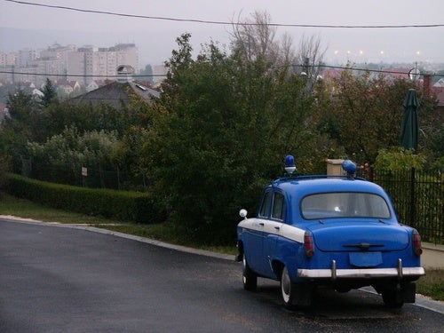 Don't Fear the Pint-Size Soviet Police Car