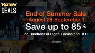 Amazon's End of Summer Sale Discounts over 300 Digital Games and DLC