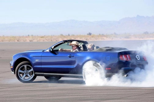 Blind Man Wins Chance To Drive 2010 Mustang