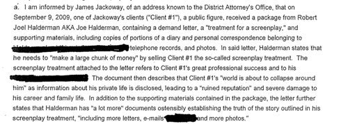 Search Warrants For Letterman's Alleged Extortionist Unsealed