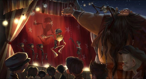 Concept Art for Pinocchio