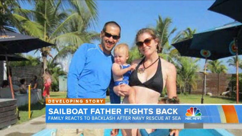 Everyone Hates Couple Trying to Sail Around the World With a Sick Baby