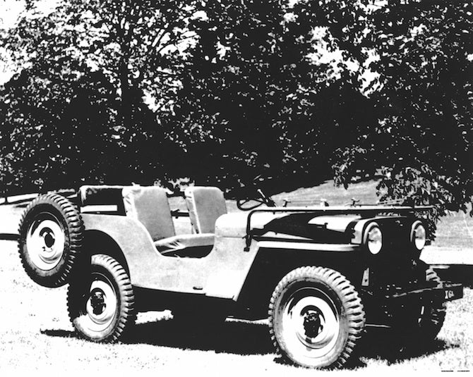 Seventy Years Of Jeep