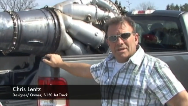 Home-Built 2700 HP Jet-Truck Is The Coolest Truck Ever!