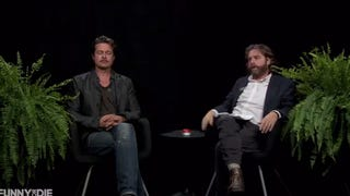 <i>Between Two Ferns</i> Welcomes Special Guest Bradley Pitz -- Uh, Brad Pitt