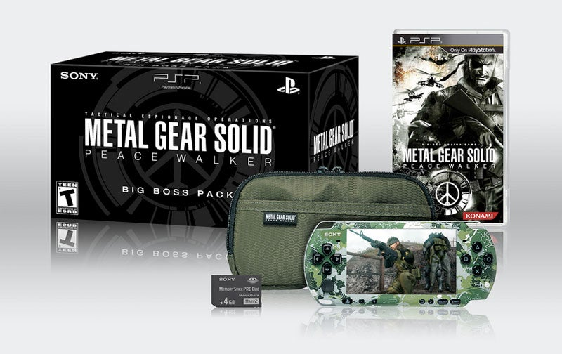 Metal Gear Solid: Peace Walker 'Big Boss' Pack Sneaks Stateside