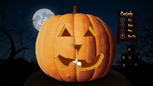 Carving a Virtual Pumpkin