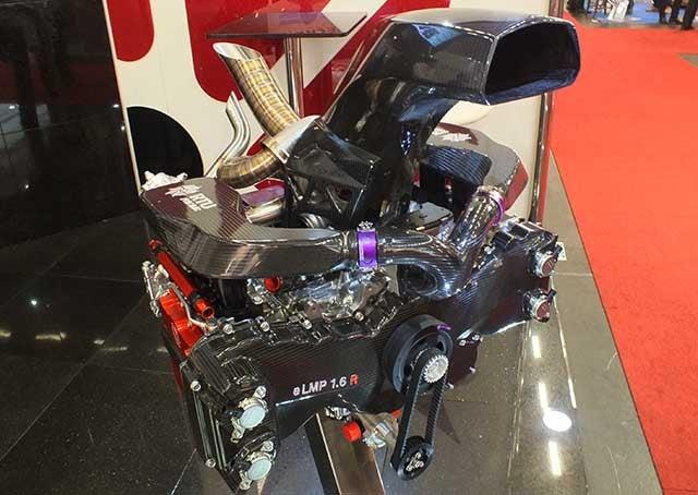 Subaru Racing Engine