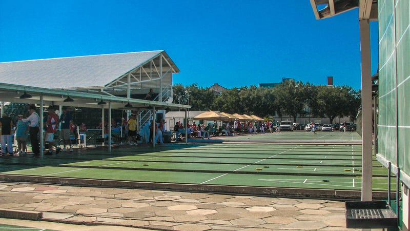 Stay Out Of The Kitchen: Day One At The World Shuffleboard Championship