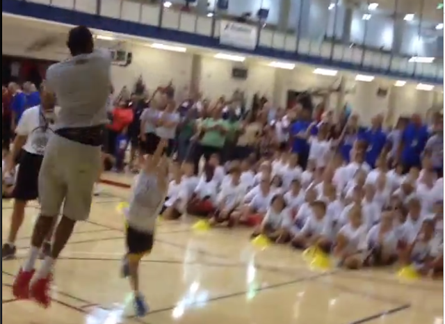Kevin Durant Remorselessly Swats The Jump Shots Of Children
