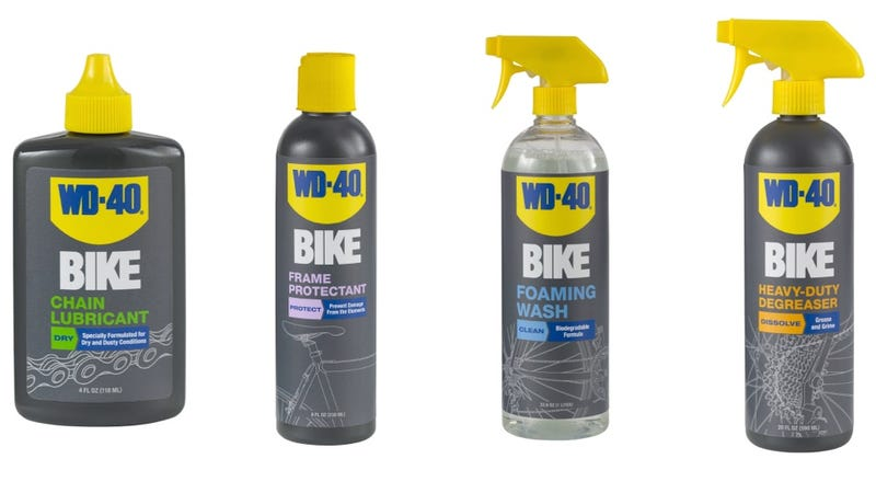 Finally, WD-40 That Won't Ruin Your Bike