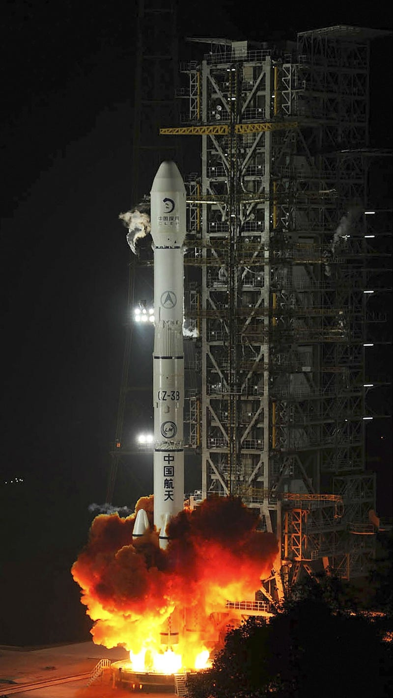 Bang, Zoom, Straight to the Moon: China Launches Its First Lunar Rover