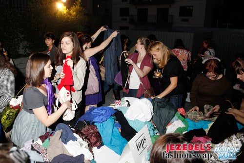 Jezebel Had A Clothing Swap, And You Were There!