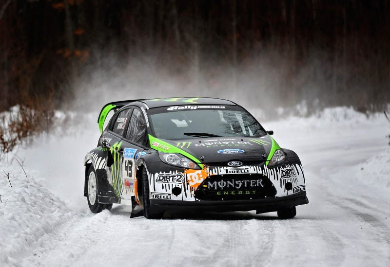 Ken Block's Ford Fiesta Goes Through Sno*Drift Tech