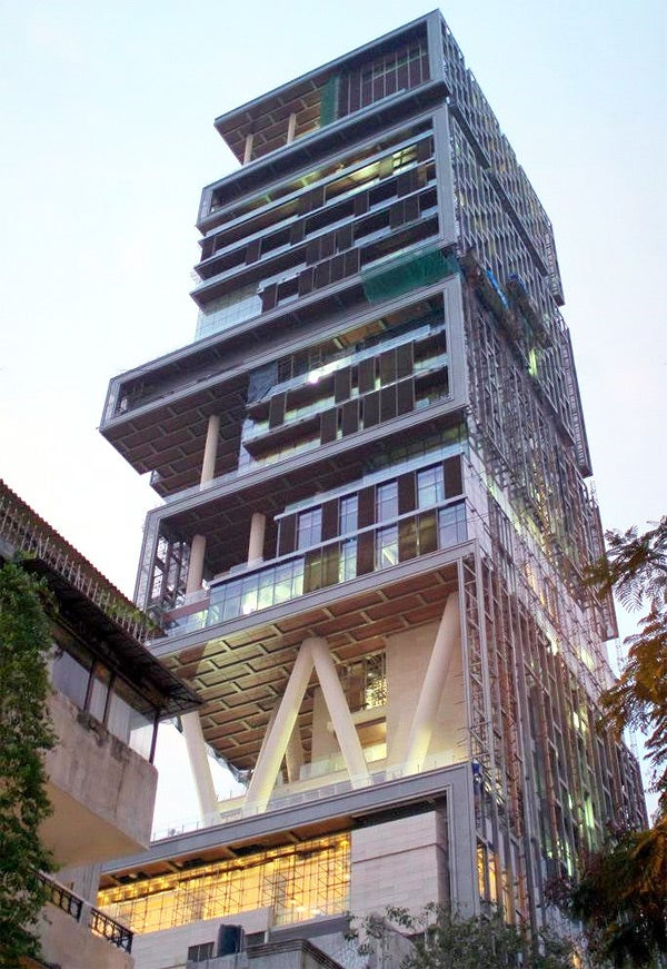 India's Richest Man Moves Into World's Biggest House