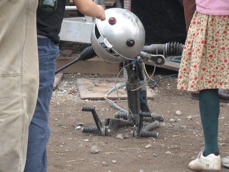 Beware Germany's New Ruler, The Dino-Bot!