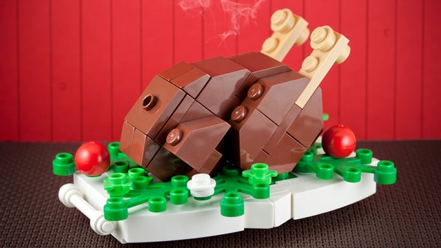 This Delicious Lego Turkey Platter Will Feed No One on Thanksgiving