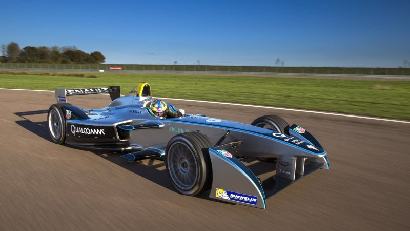 F1 Driver Says All-Electric Formula-E Racer Will Be Fun To Drive
