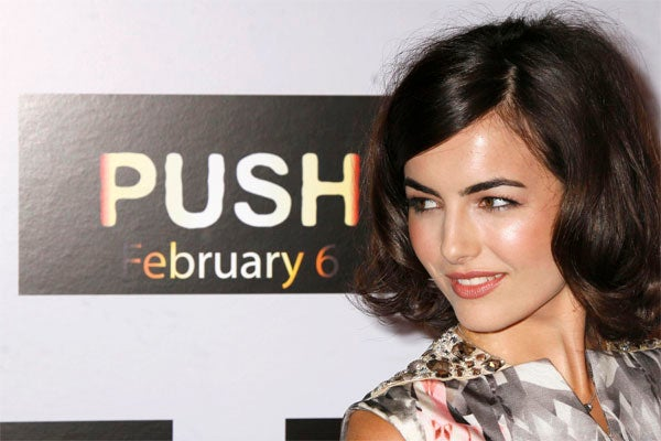 Camilla Belle: Ah, Push It