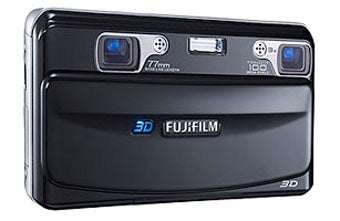 Fuji's 3D Point-and-Shoot Due in September for $600, Features Unnerving Smiley Face