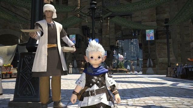 Final Fantasy XIV on PC vs PS3 vs PS4