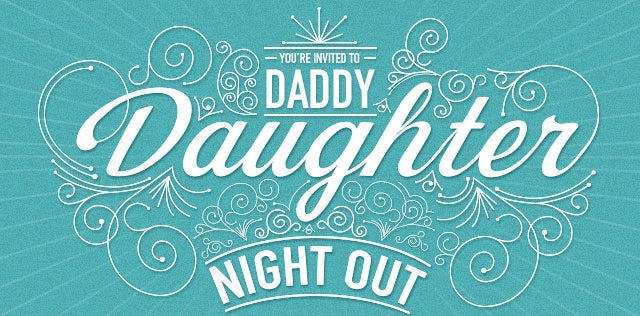 Email from my dad/Dad and Daughter Night at Chili's?!?