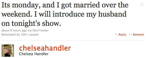Did Chelsea Handler Get Married?