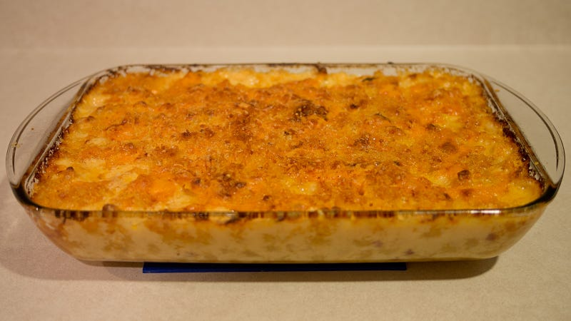 Mac 'n cheese nirvana has been achieved